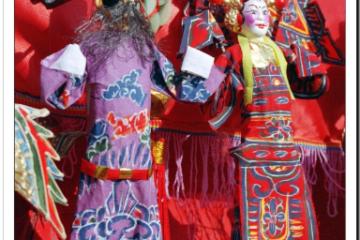 北京2008年庙会人物